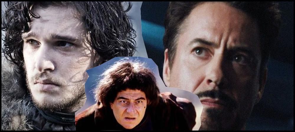 Jon, Tonny Stark et jacouille la Fripouille regardent vers l'avenir.