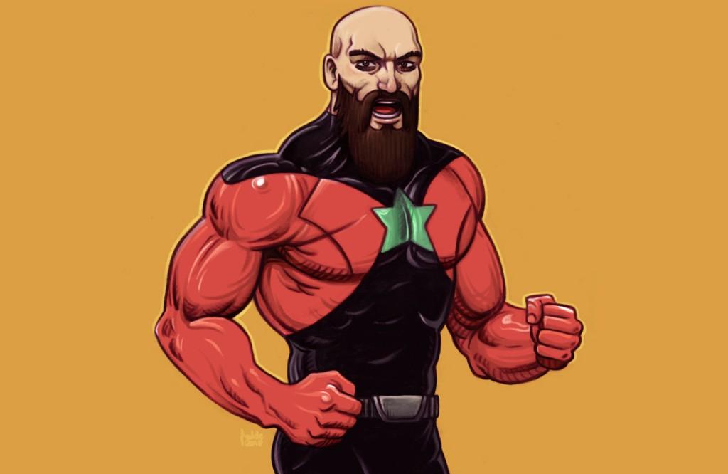 Wahid, le héros éponyme du comic suédois dessinés par Fedde et écrits par Hisham Kaine