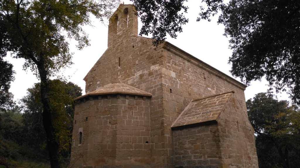 chapelle saint Denis, site de Calès, Lamanon, Provence