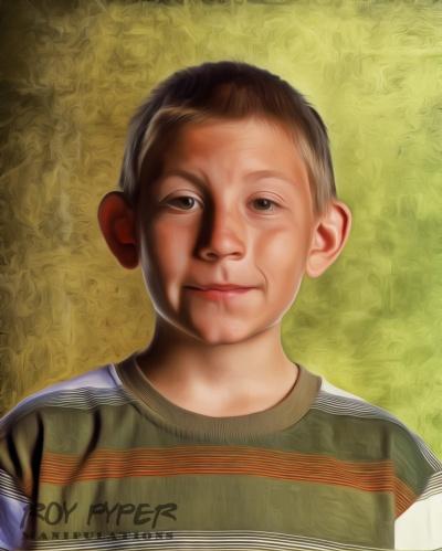 Portrait de Dewey, le plus jeune et le plus intelligent des trois freres dans Malcolm in the Middle