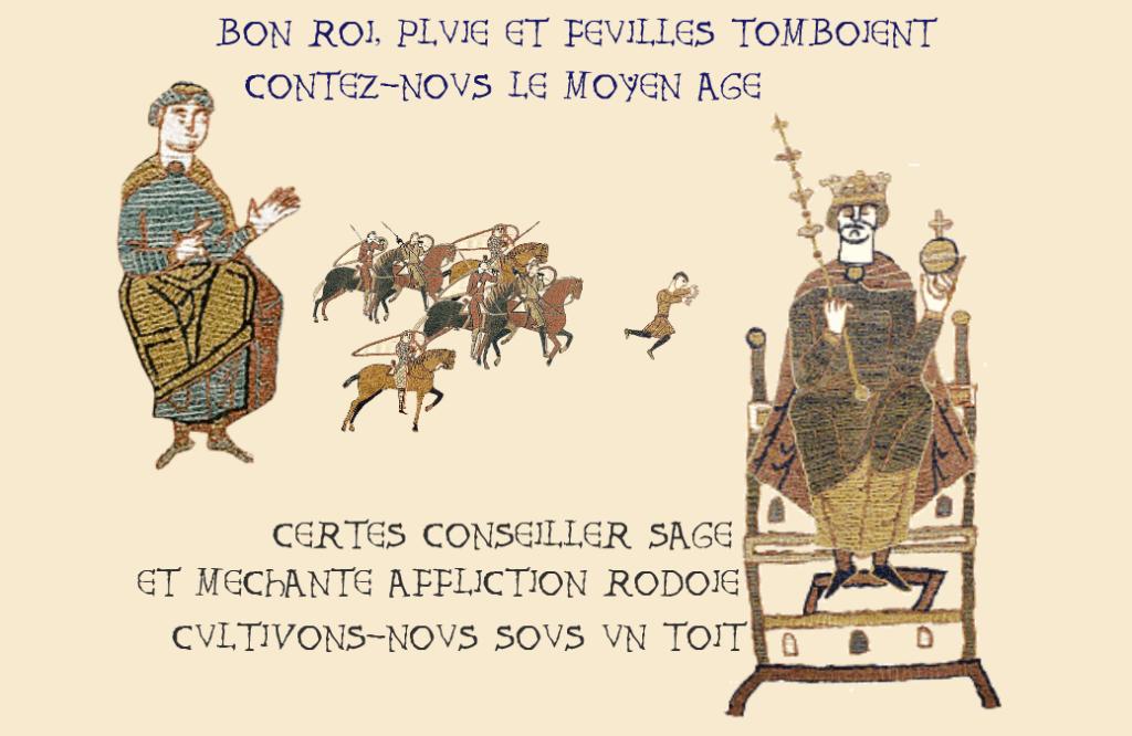 Bon Roi et Conseiller conte le Moyen Âge, une production Cher Journal.